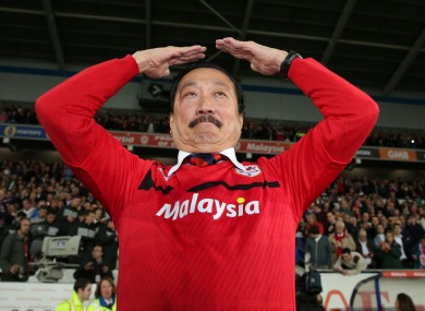 Vincent Tan: the man in charge at Cardiff.