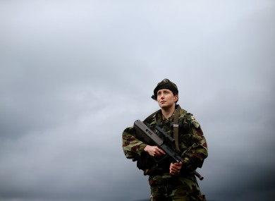 Lieutenant Marie Carrigy from Longford