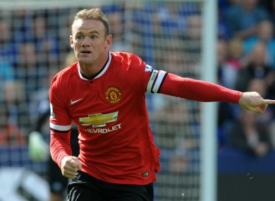 Rooney has scored two goals so far this season.