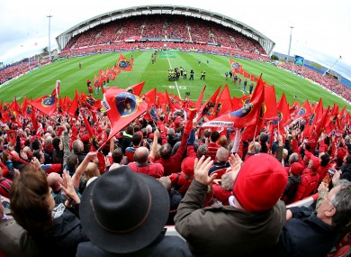 Munster are hoping to bring in bigger crowds at Thomond Park this season.