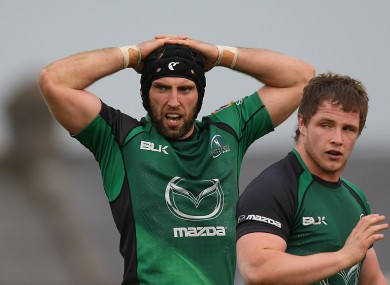 Muldoon first captained Connacht in the 2008/09 season.