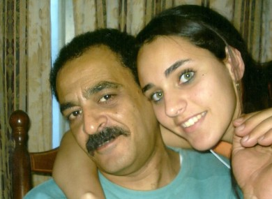 Yaser Said and his daughter, Amina, not long before he allegedly murdered her.