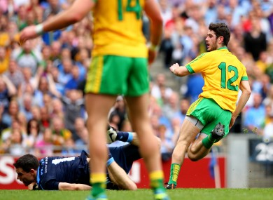 McHugh stole the show with 2-2 in Donegal's shock semi-final win against Dublin.
