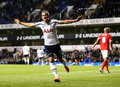 Harry Kane was one of Spurs' goalscorers.