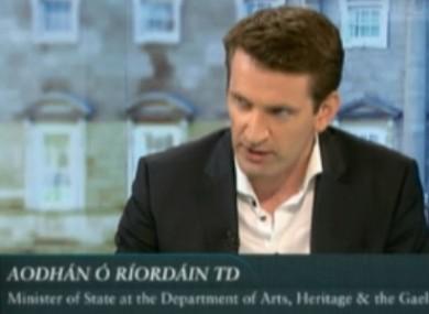 Aodhán Ó Ríordáin says public services need to be paid for.