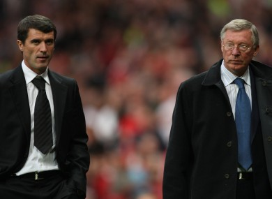 Ferguson and Keane famously fell out after the latter's controversial departure from Man United.