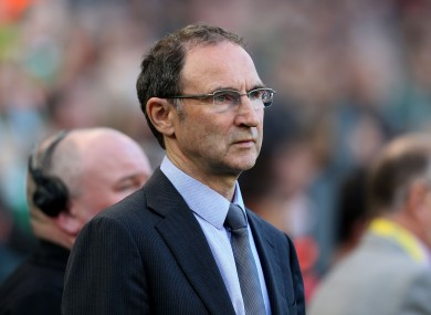 O'Neill was pleased with how Ireland dictated play last night.
