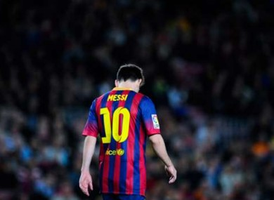 Rumours that Lionel Messi is unhappy at Barca have intensified of late.