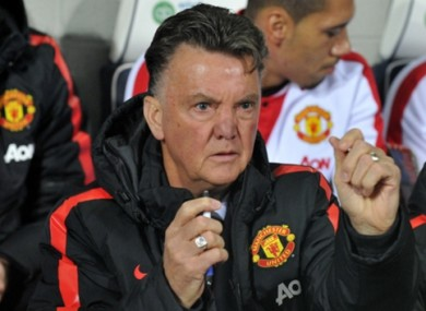 Van Gaal has had a mixed start to life as Man United manager.