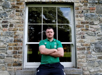 Kilcoyne is vying with Jack McGrath for Ireland's number one jersey.