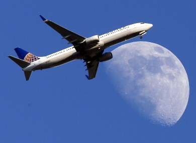 United Airlines jet plane (file photo)