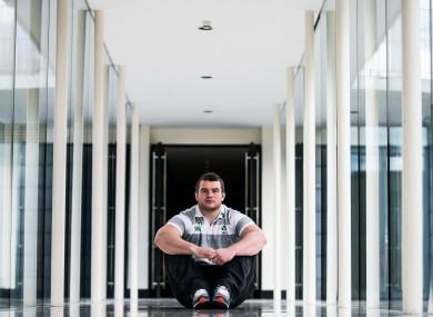McGrath at Ireland's training base in Carton House.