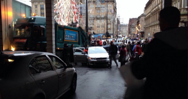 Six confirmed dead as rubbish truck crashes into pedestrians on busy Glasgow street