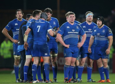 Leinster were left disappointed in Thomond Park last weekend.