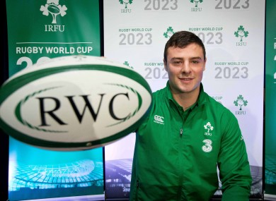 Henshaw was in Armagh yesterday to help launch Ireland's bid.