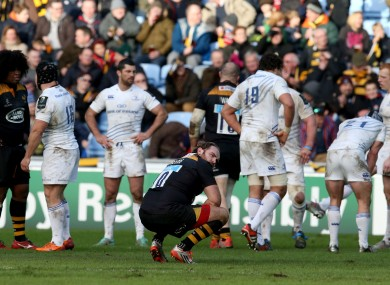 Andy Goode's late drop goal sailed wide of the posts.