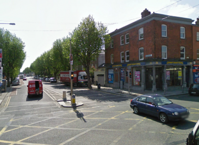 File photo of the junction between North Circular Road and Dorset Street.