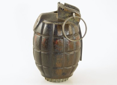 File photo of a Mills grenade.