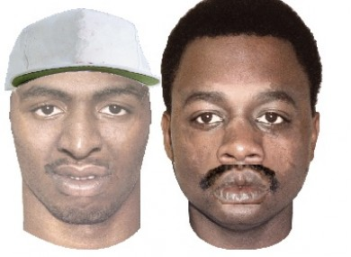 Sketches released of the two men suspected of shooting an off-duty Garda in New Orleans.