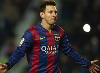 Lionel Messi is one of the stars who frequently lights up the Camp Nou.