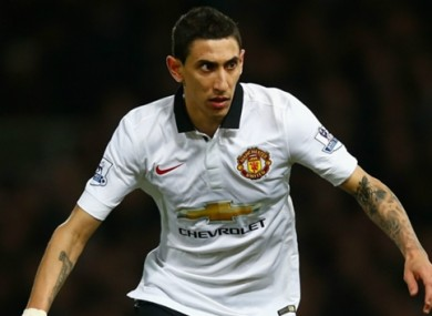 Di Maria's house was recently burgled.