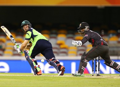 Wilson rediscovered his form just at the right time to help Ireland beat UAE.