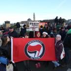 Anti Racism Ireland protest <span class=