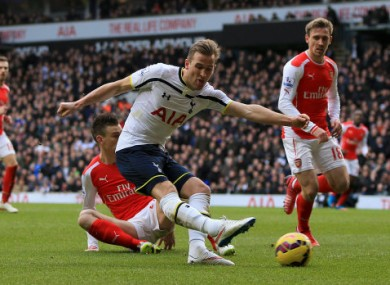 Kane has been in scintillating form for Spurs recently.