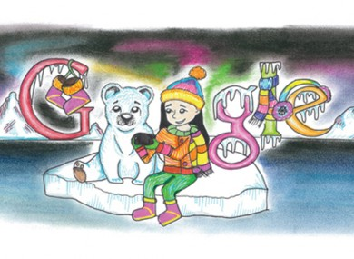 75 Students Compete To Have Drawing Shown On Google S Irish Homepage