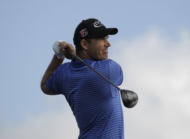 Padraig Harrington is savouring his success after winning the Honda Classic yesterday.