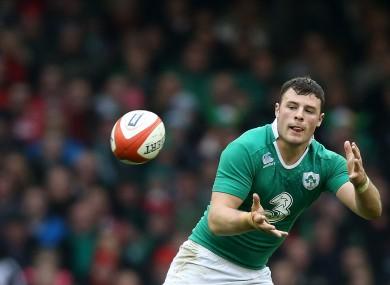 Robbie Henshaw is basking in Ireland's success.