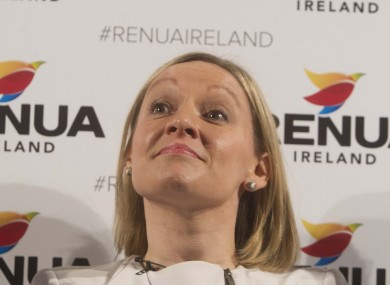 Lucinda Creighton at the launch today
