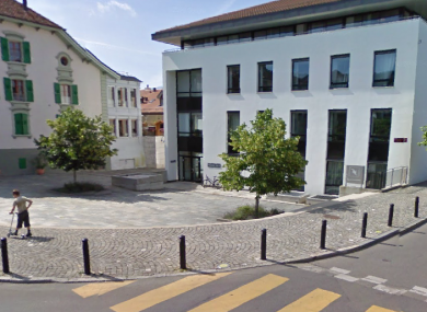 Grand-Rue 2 in Lutry where the woman's body was found.