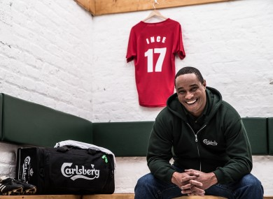 Ince launched Carlsberg's #JoinTheGreats competition in Dublin on Thursday.