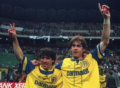 c331ad730 It s 20 years since that glorious Parma team won the Uefa Cup   now the  club is in disarray