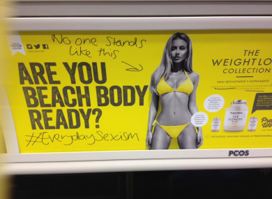 controversial marketing by Protein World