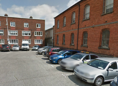 George's Place, outside Temple Street Children's Hospital.