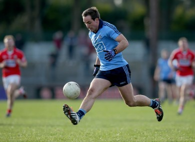 Tomas Brady in action against Cork earlier in this year's league.