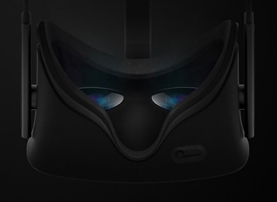A top-down preview of the consumer version of Oculus Rift.