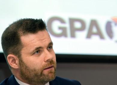 GPA Chief Executive Dessie Farrell
