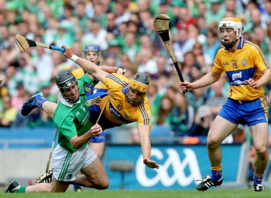 Clare and Limerick's last championship clash was the 2013 All-Ireland semi-final