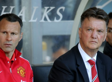 Louis van Gaal oversaw United's fourth-place finish this season.