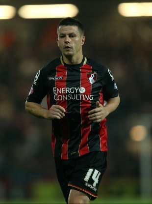 Harte has made nine appearances for The Cherries this season.