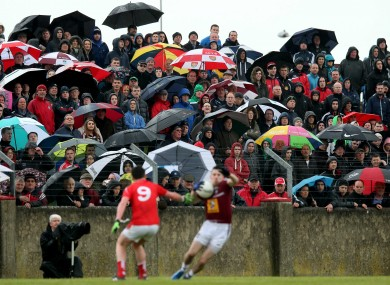 The weather in Drogheda was pretty similar to the rest of the country: miserable.