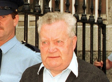 Fr Brendan Smyth in 1997