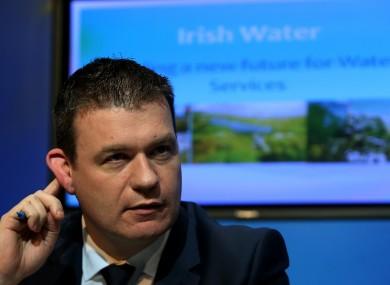 Environment Minister Alan Kelly