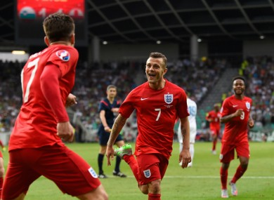 Wilshere says a former England legend helped his performance on Sunday.