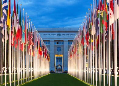 United Nations Offices, Geneva.