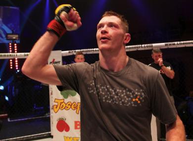Irish UFC lightweight Joseph Duffy.
