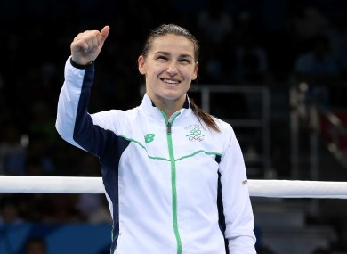 Katie Taylor could be fighting in Limerick next month.